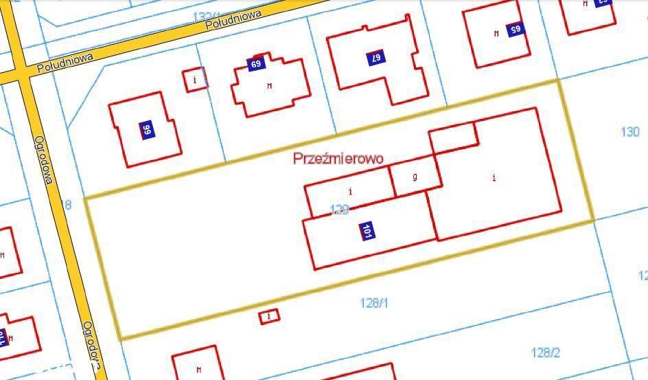 Hale magazynowe biuro o pow.830 m2 działka 2640 m2