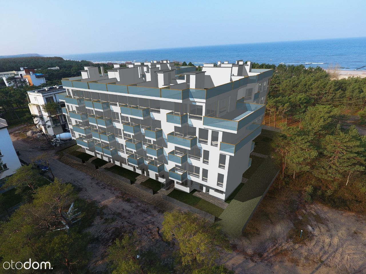 Apartamenty Piaskowe 2 ROWY 100m od morza gm.Ustka