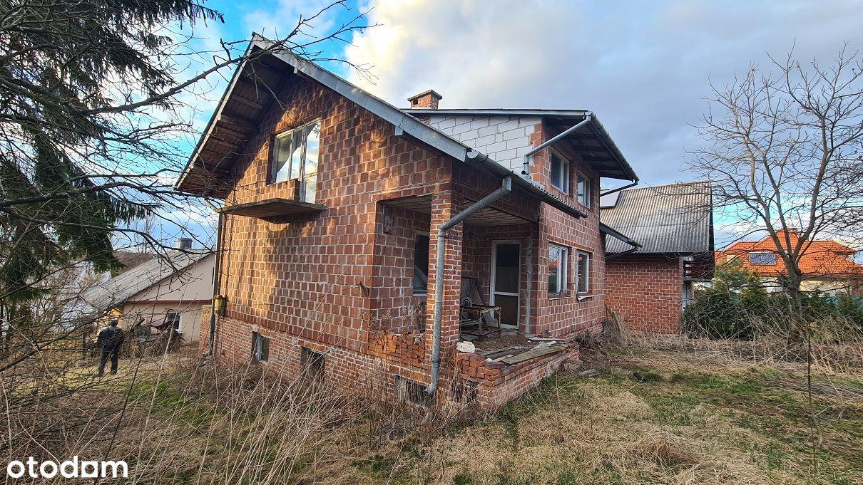Dom do wykończenia + domek + budynek gosp - 18,5ar