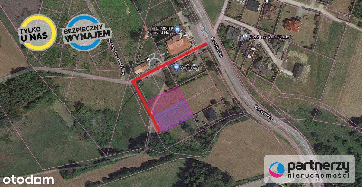 800m2 - Działka Na Wynajem - Wiczlino