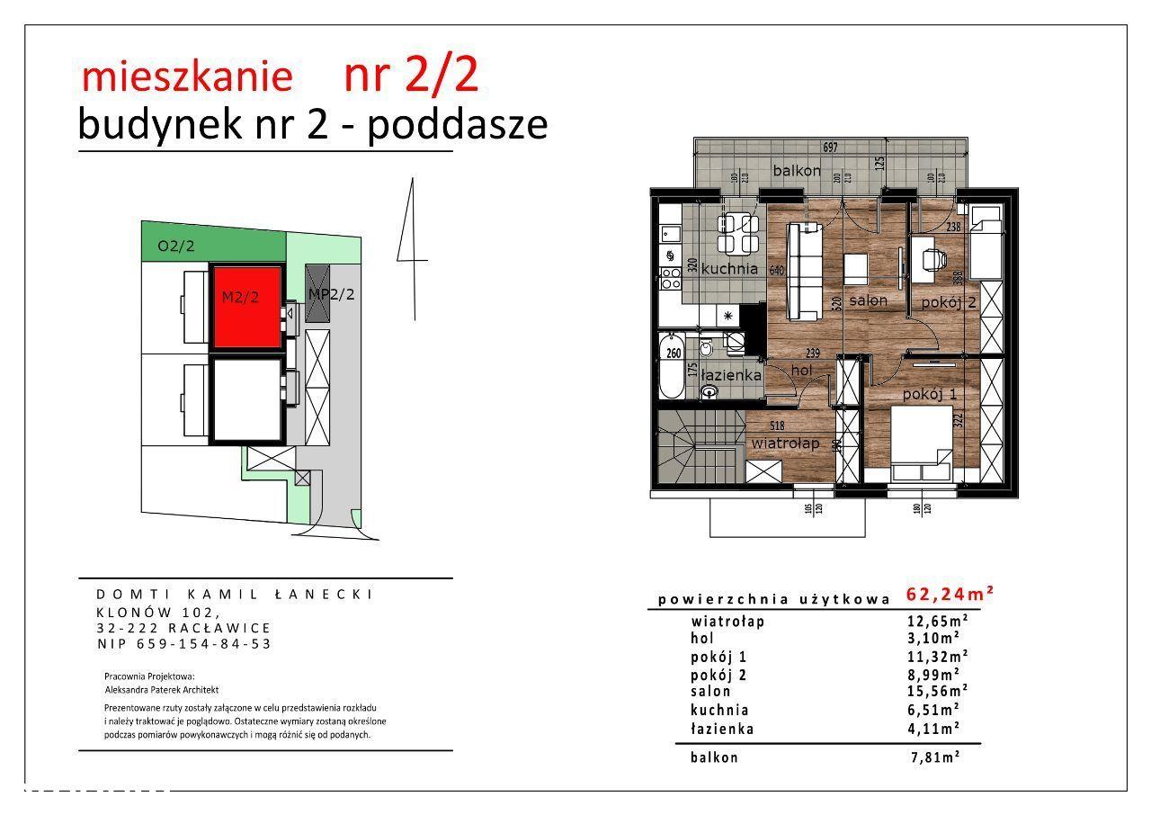 Nowe 3 pokojowe mieszkanie z ogródkiem i balkonem