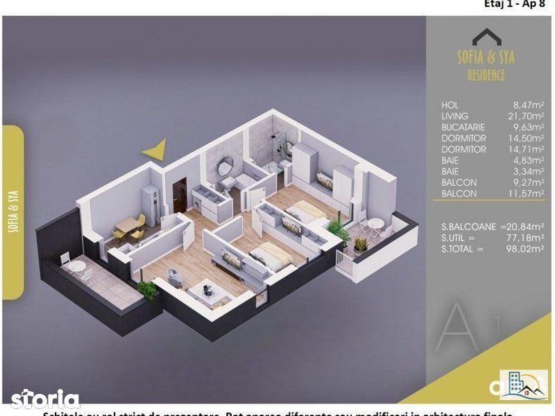 Apartament 3 camere IDEAL FAMILIE, metrou Nicolae Teclu!