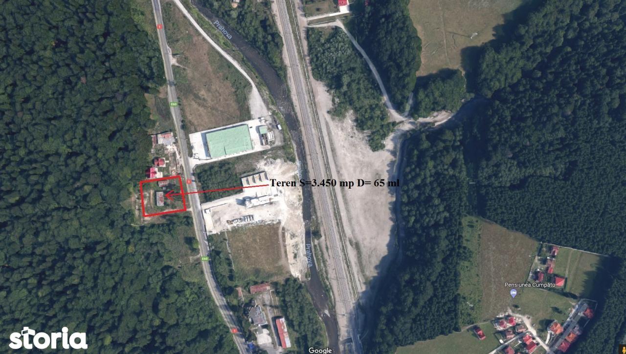Vand teren Busteni Prahova 3400 mp 65 ml