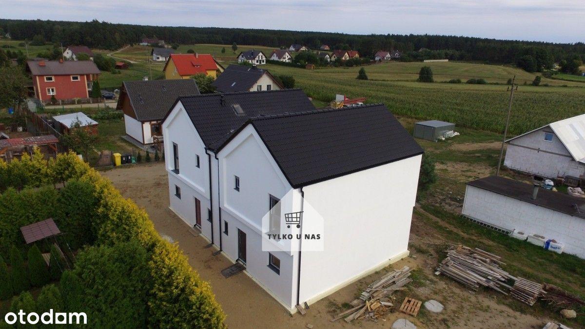 Lipusz-dom w stanie deweloperskim- wysoki standard
