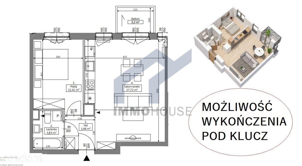 Przestronne 2 Pokoje, Aneks Z Oknem, L.Marceliński