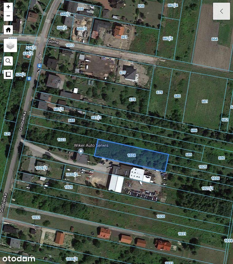 Działka, 2 000 m², Grodków