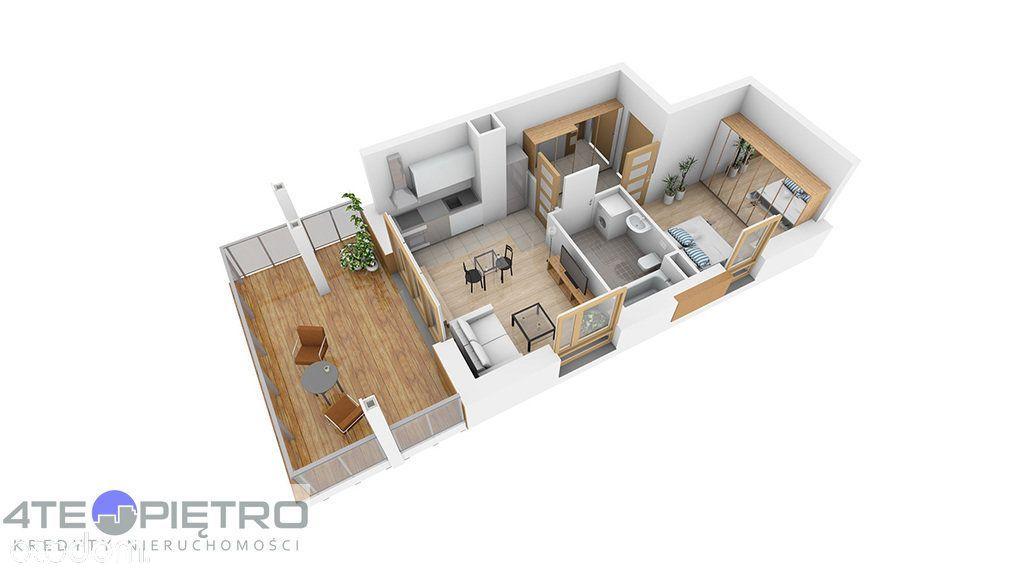Nowe, 2 pokoje + Ak, taras 56m2, Czuby, 2022r