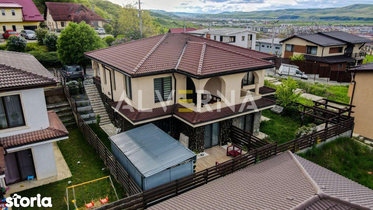 Duplex 120mp + terasa amenajata 43mp, 2 parcari, zona Teilor Floresti