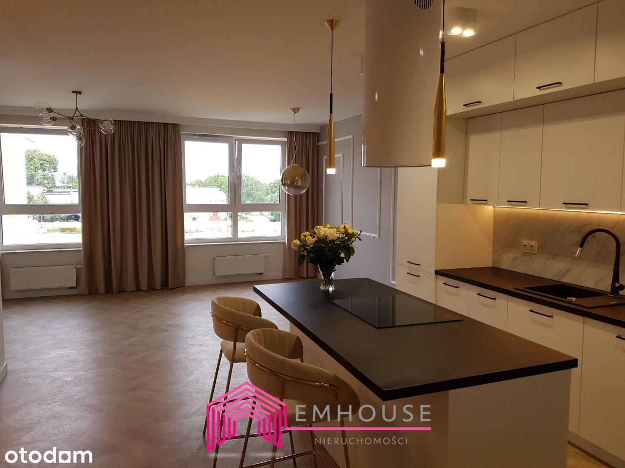 Nowy, dwupoziomowy apartament 4-pokojowy