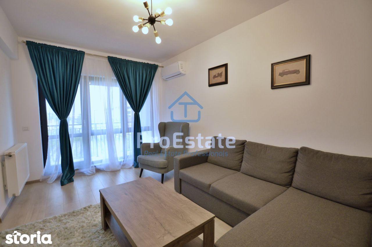 Apartament 2 camere Otopeni, comision 0%, mobilat si utilat
