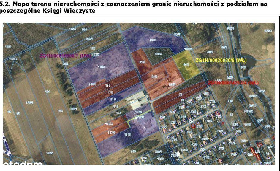 Działka, 95 807 m², Kiełcz