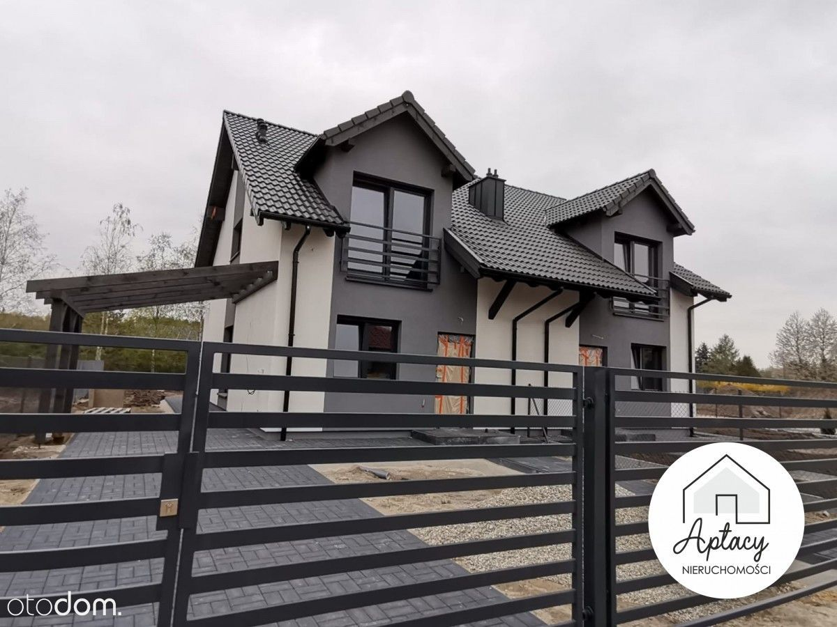 Dom Skrzynki 6 pokoi 108 m2 las dz. 927 m2