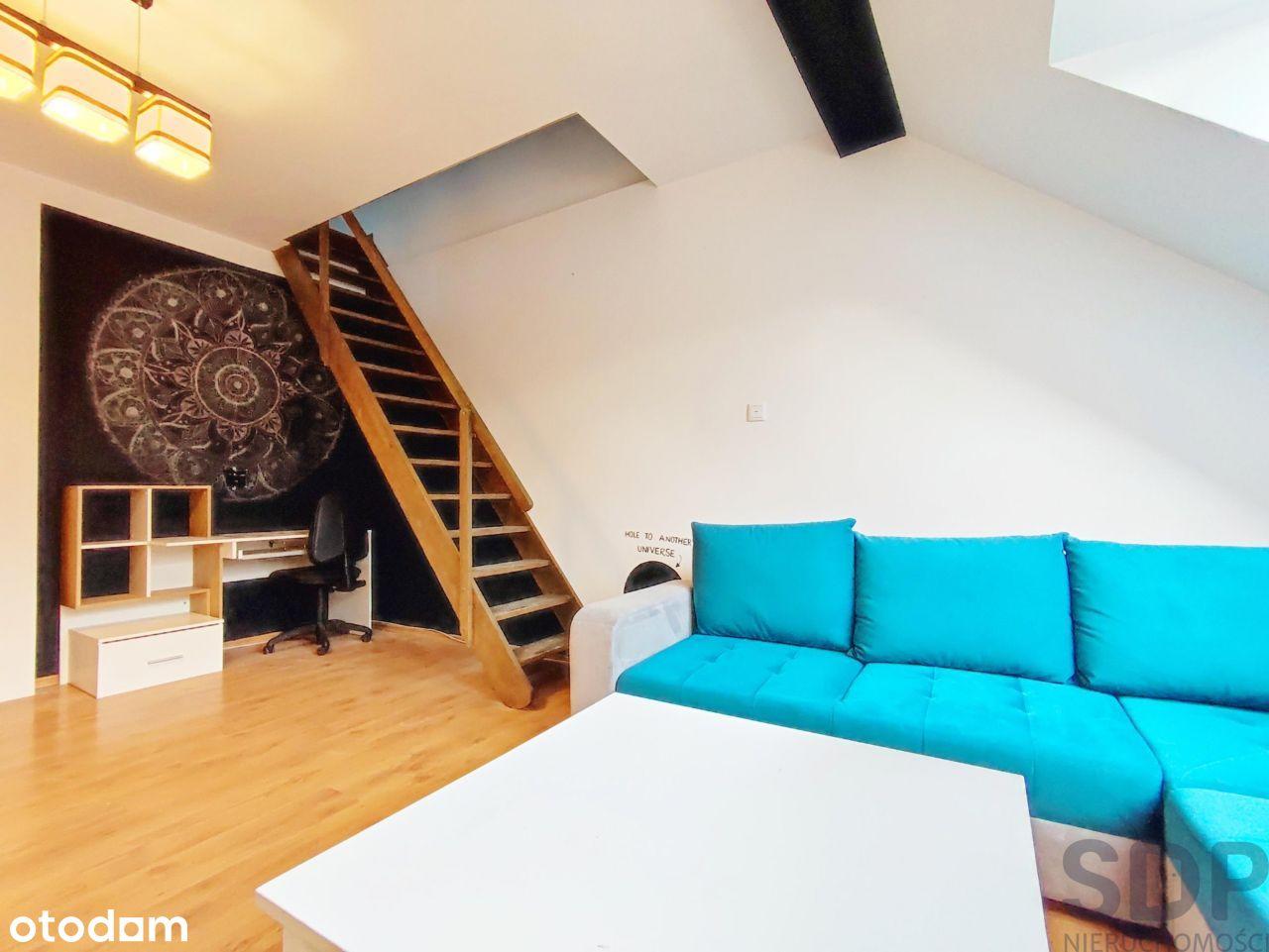 Piękne 2-poziomowe mieszkanie po remoncie/Strońska