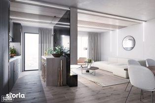 Apartament nou de 2 camere, zona centrala, etaj 3, 53.67 mp utili