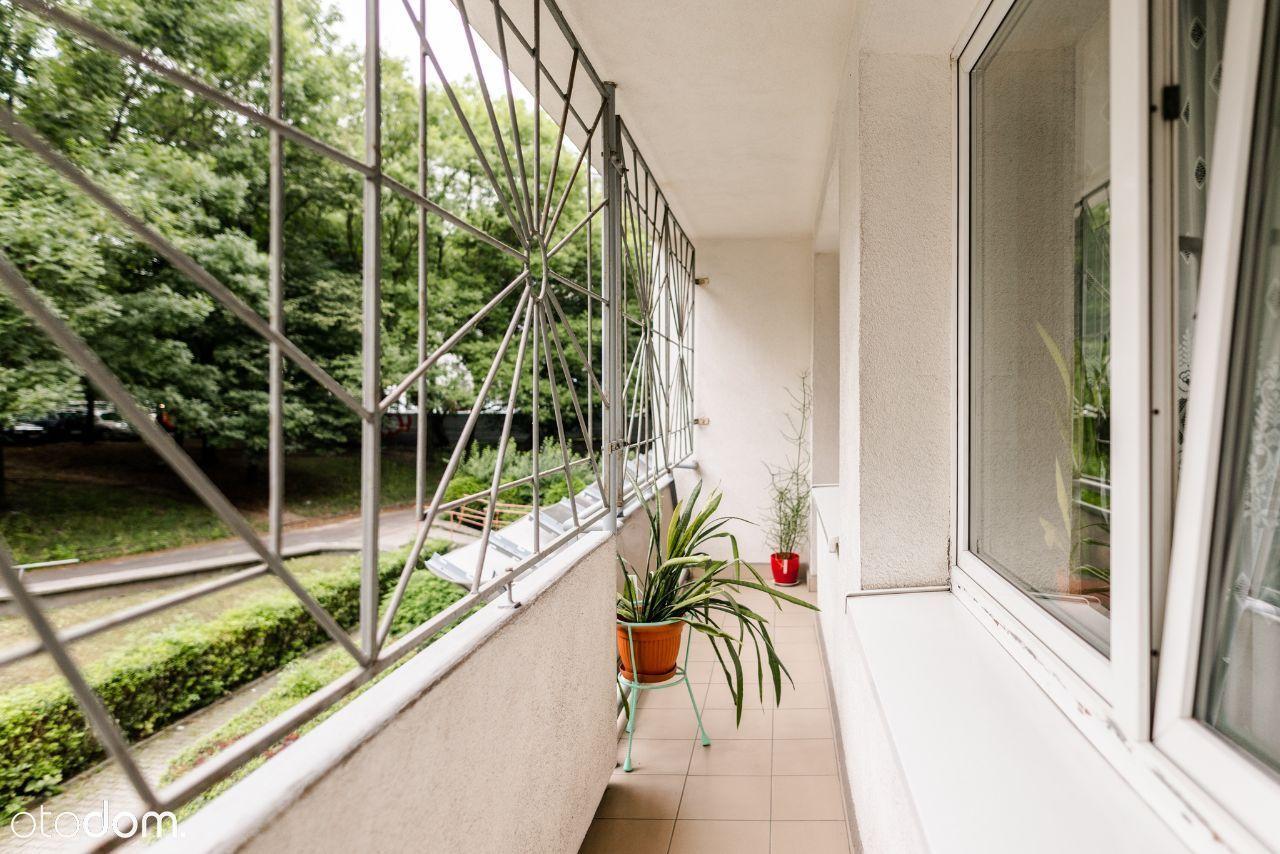 2 pokoje, dobry układ, piękny balkon. Mikołowska