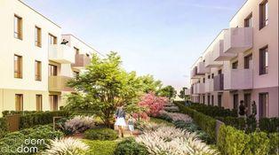 Dwustronne mieszkanie 2 pokojowe z ogrodami