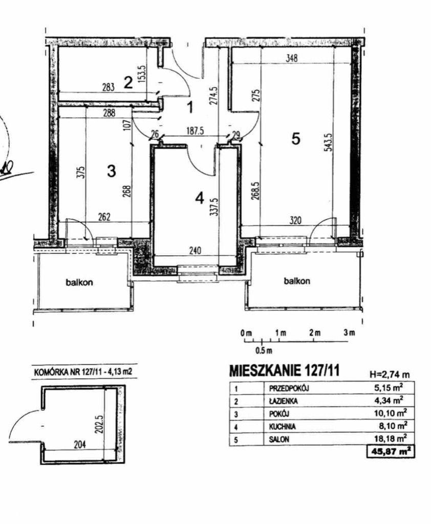 Mieszkanie dostępne od 02.11.2021 r.