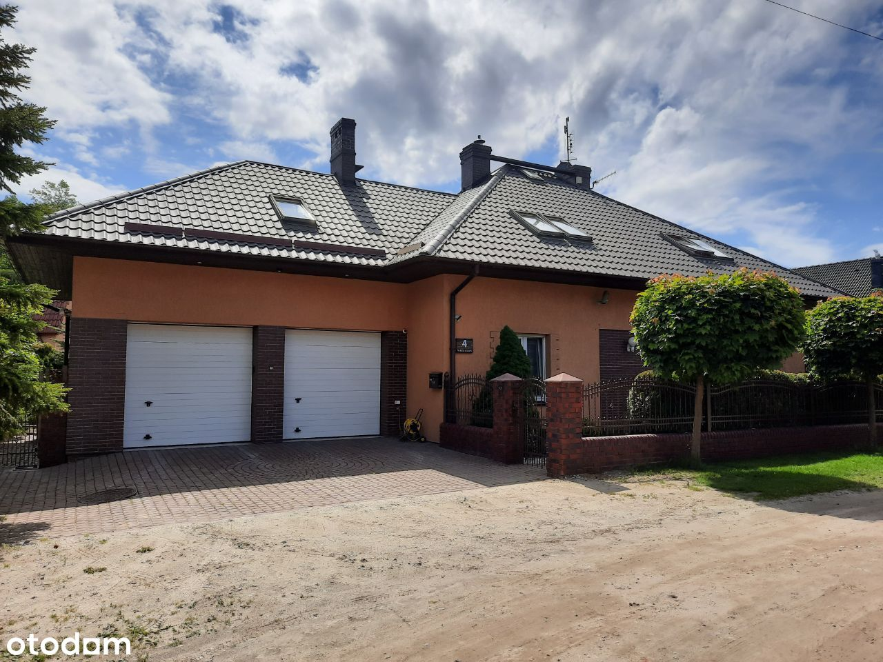 Dom 236m2 w Błażejewku, 150m Jezioro, las, SAUNA