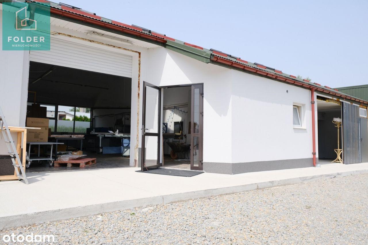 Jasionka warsztat produkcyjny, parterowy, parking