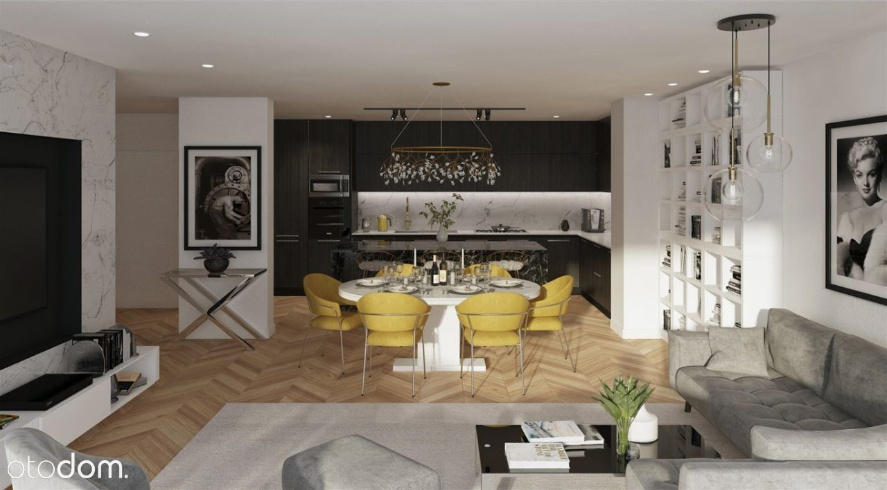 3 Pokoje 88m2 z Tarasem - Apartamenty Chwałowice