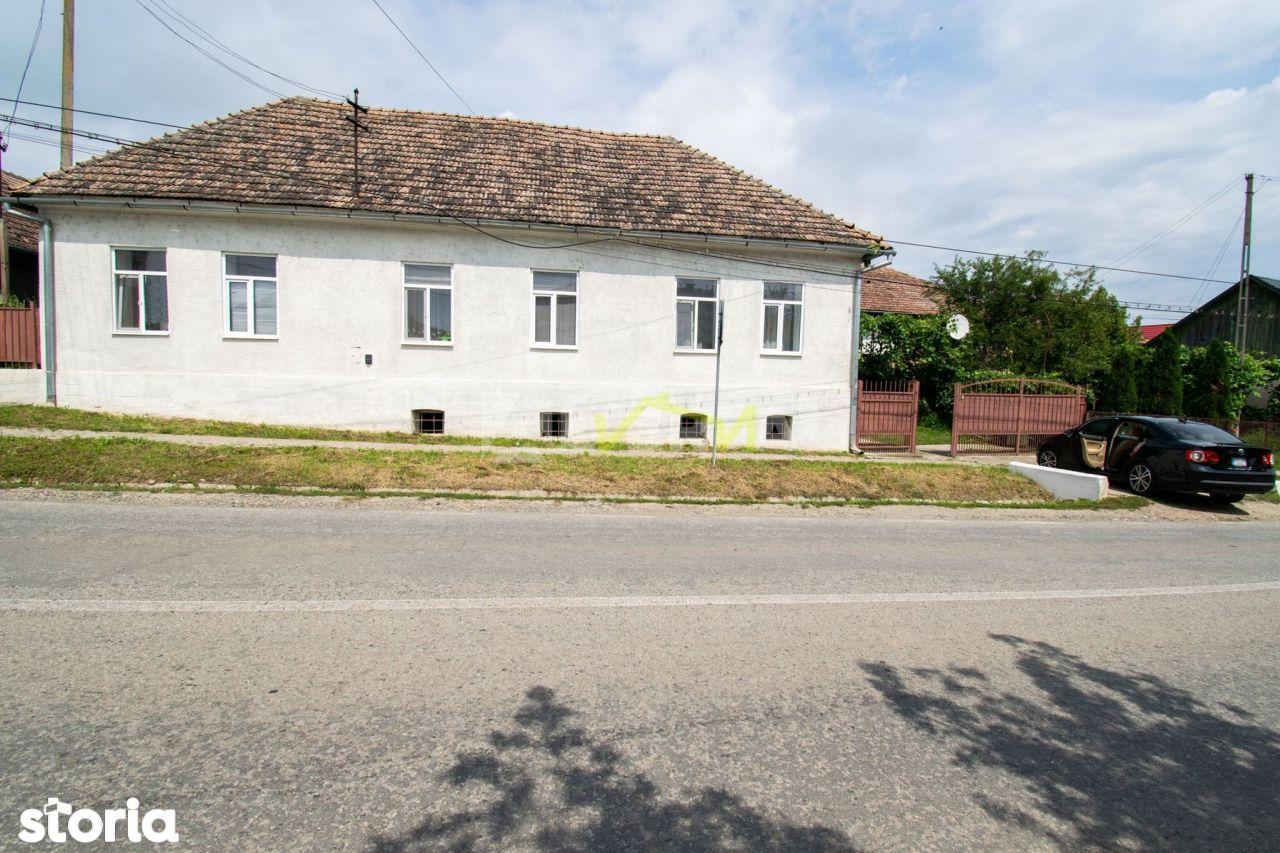 OPORTUNITATE! Casa individuala in centrul comunei MOCIU, teren 1870mp