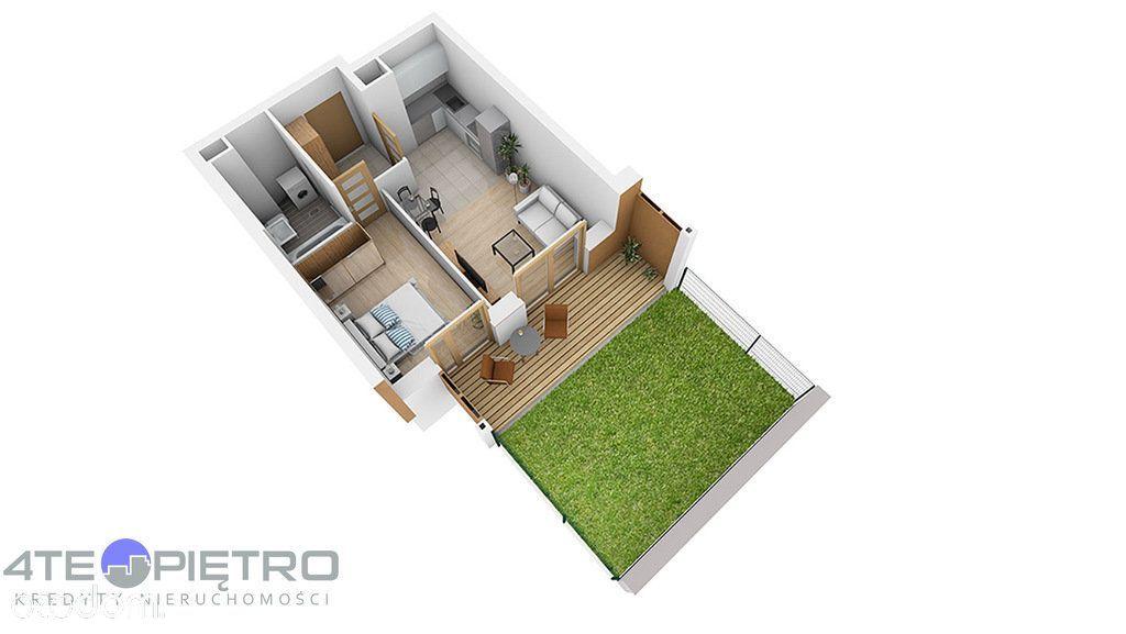 Nowe, 2 pokoje + Ak, 35m2, ogródek, Czuby, 2022r