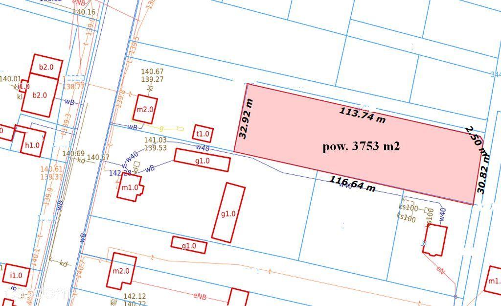 Działka 3757 m2 w Wiśniewie. Możliwość podziału!