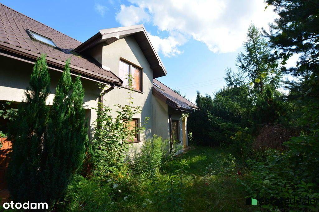 Dom 5 pokoi z domem usługowym - Skubianka