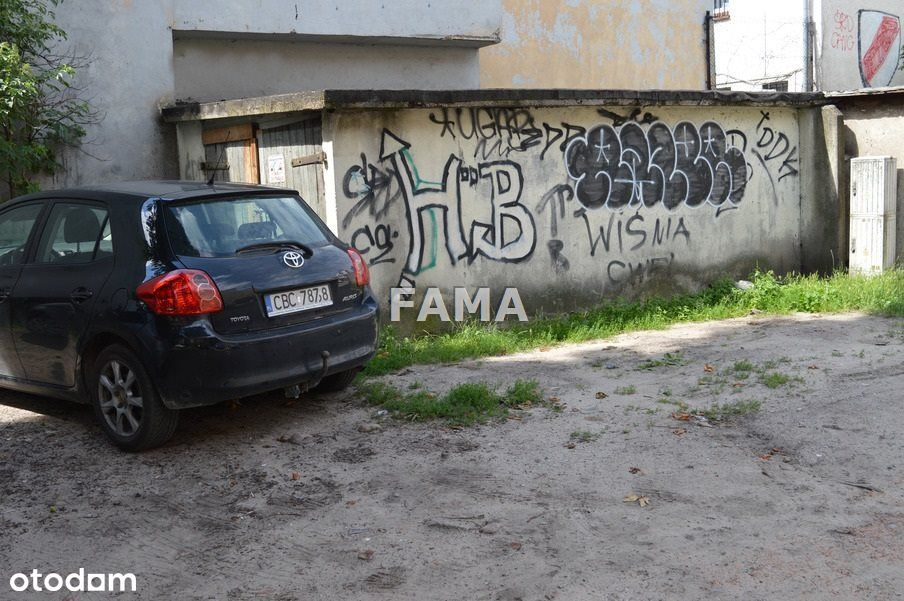 Garaż murowany, może być 2-stanow., Śródmieście