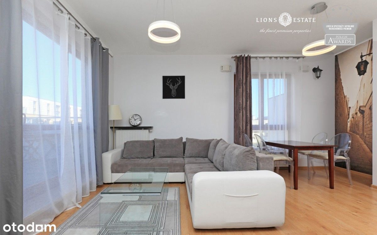 Komfortowe 3 pokojowe mieszkanie na Wilanowie