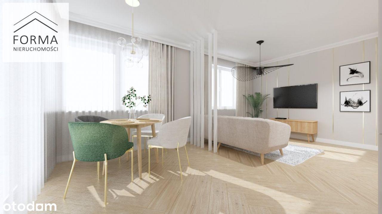3-pokojowe mieszkanie w nowym bloku 65m2 + balkon