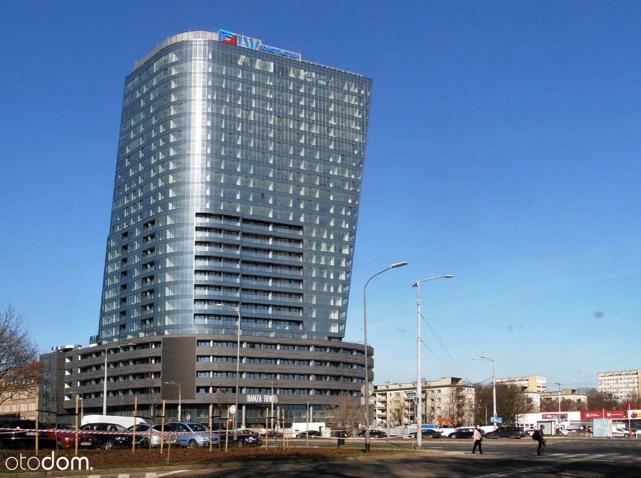 Słoneczny Apartament HANZA TOWER z Pięknym Widokie