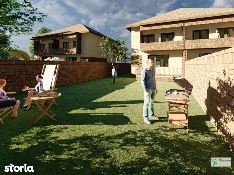 Vila 4 camere - teren 225mp-la cheie -toate utilitatile-Bragadiru