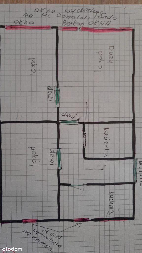 Mieszkanie 52,20 m², Głogów