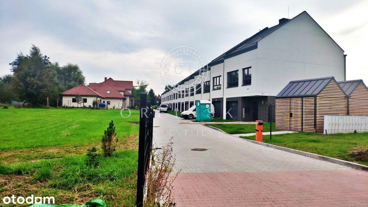 Szeregówka z ogródkiem i garażem Kraków