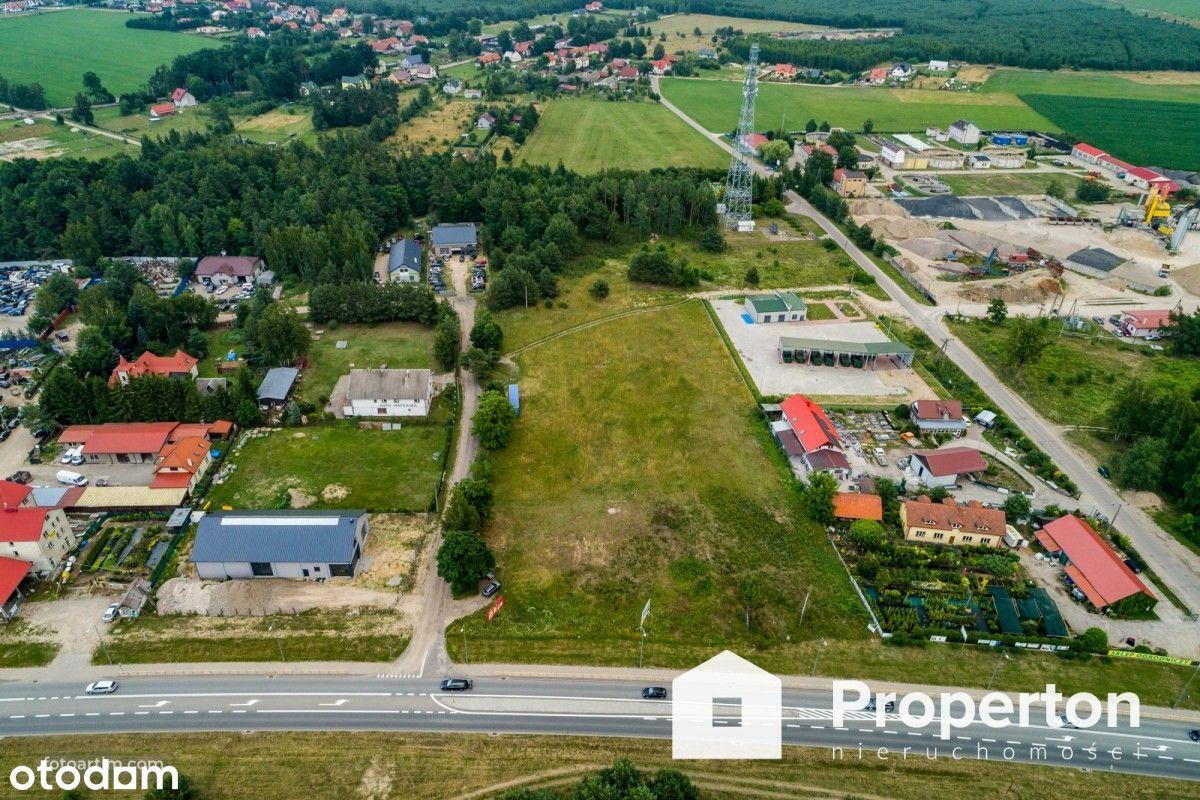 Działka inwestycyjna przy Dk63 w Piszu