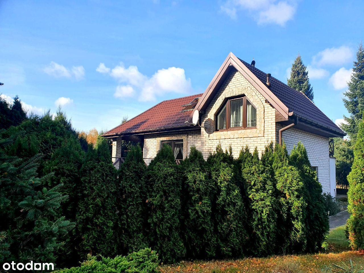 Cyprianów-wolnostojący dom-4 km od autostrady!