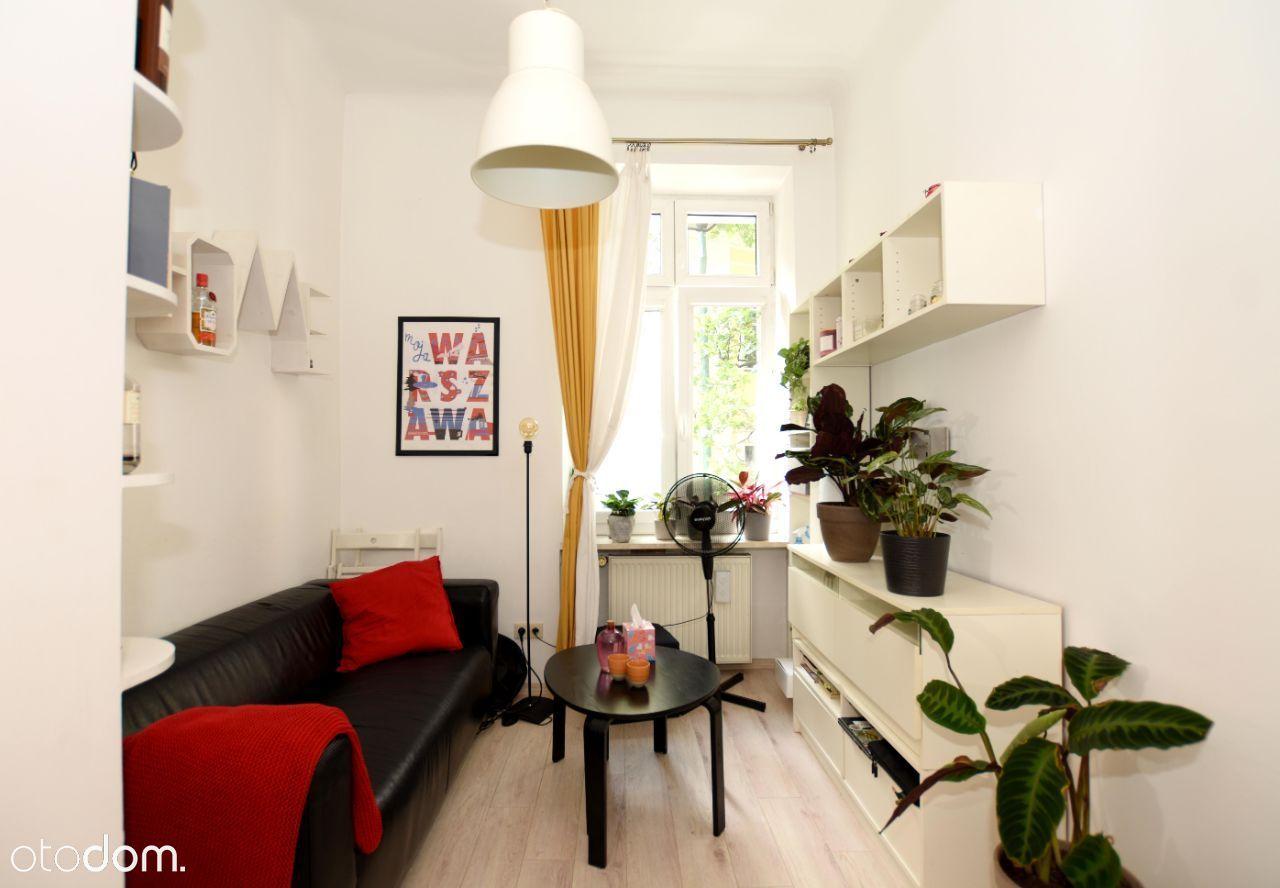Mokotowska 23, dwa pokoje, 23,5 m kw.
