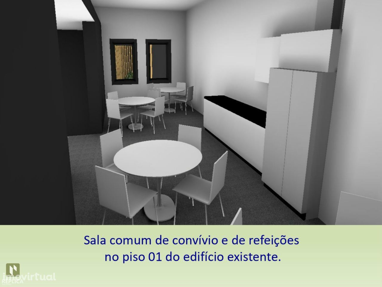 Prédio para reabilitar próximo ao Hospital São João