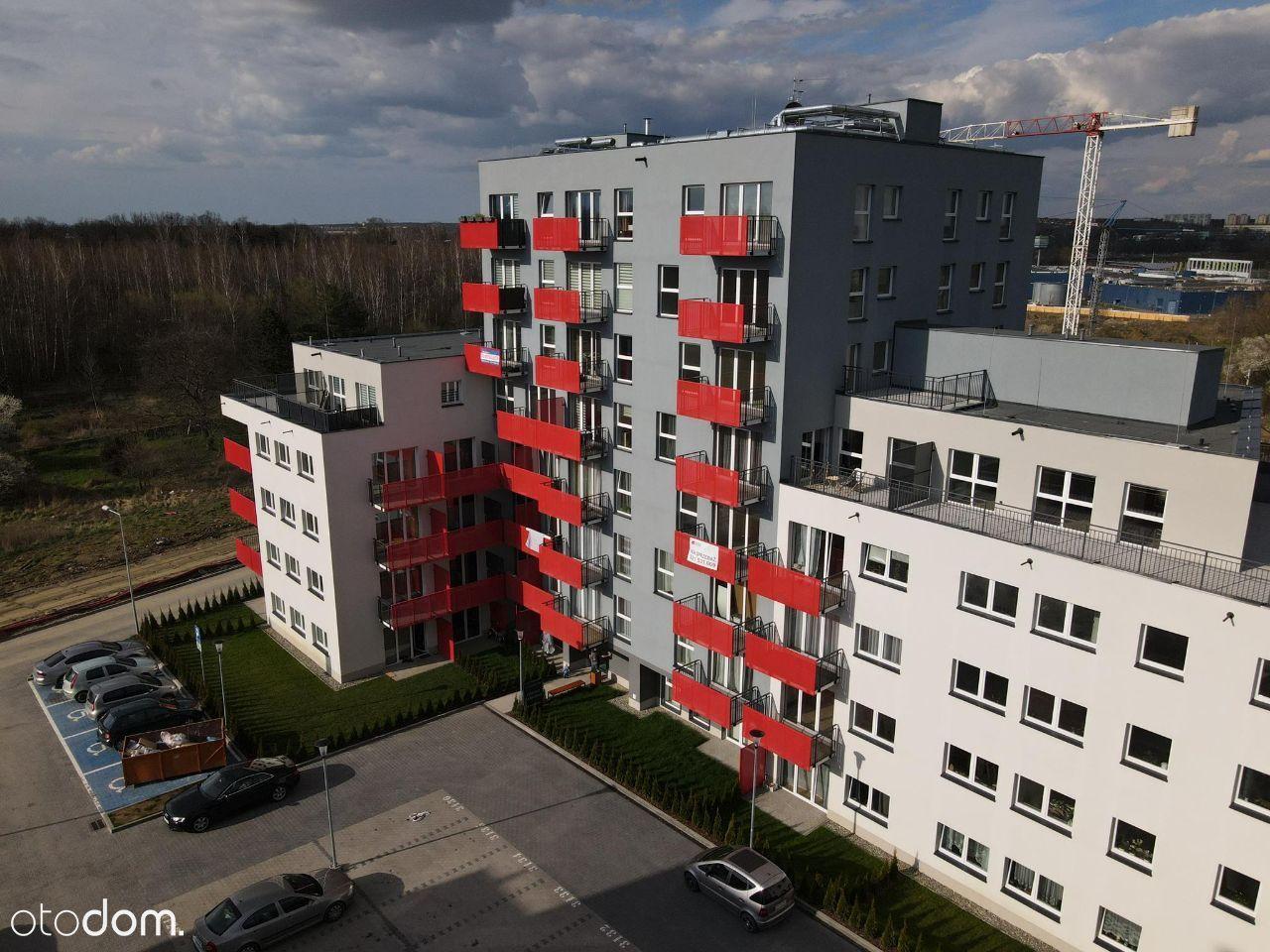 Nowoczesny Apartament 45m2, 3 pokoje, Bezpośrednio