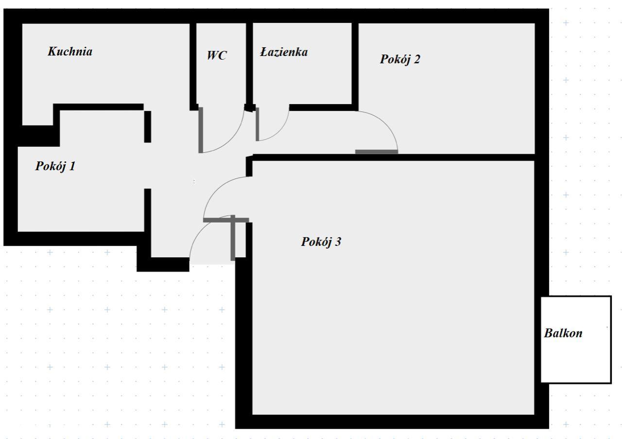 Funkjonalne mieszkanie w świetnej lokalizacji!