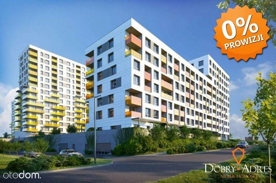 Apartament 2pokojowy Przybyszówka 40m2, loggia
