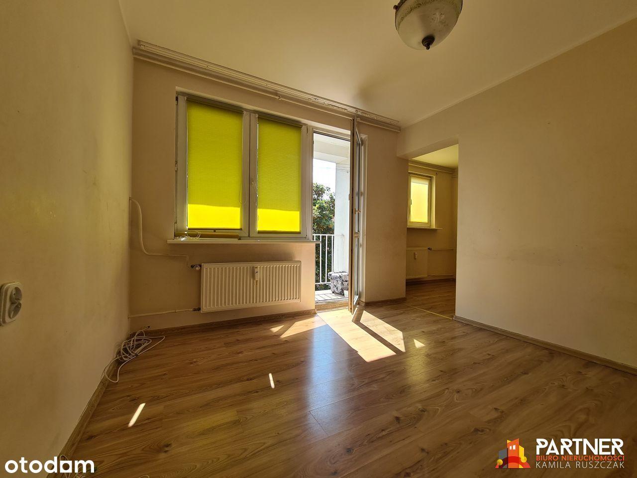 2 pokoje na Wolności, 36 m2, 3 piętro, balkon