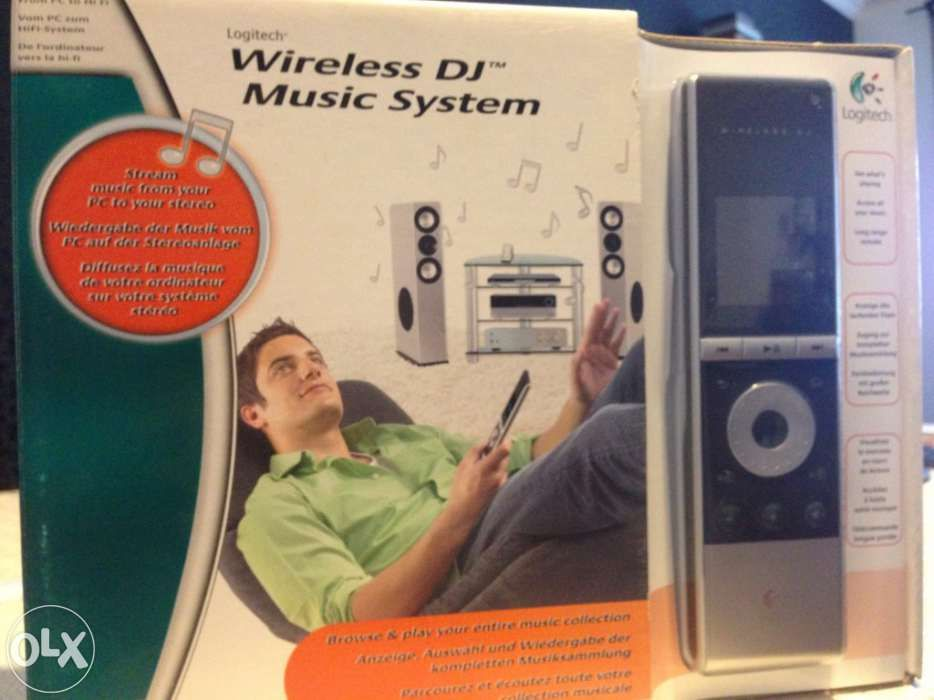 Logitech wireless dj music system
