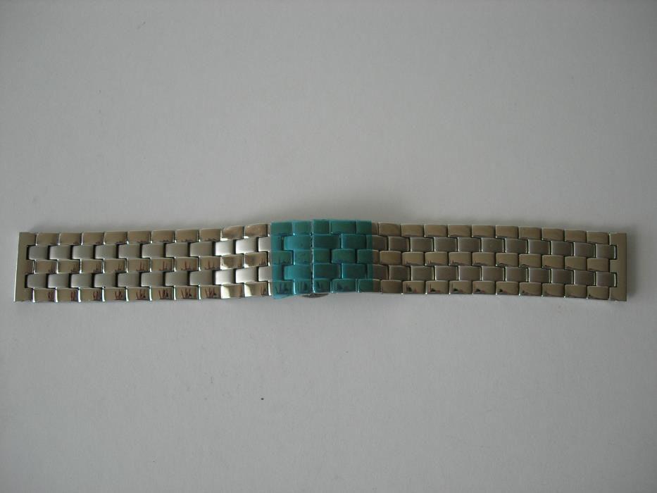 Bracelete Relógio Metalica Maciça 22mm Fecho Borboleta