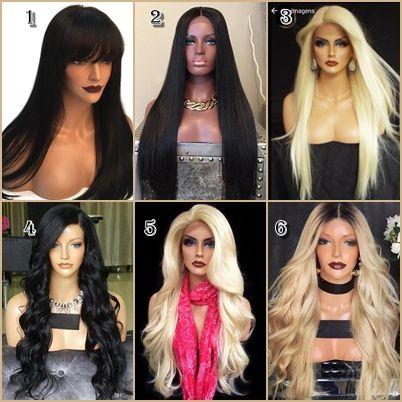 Perucas couro cabeludo humano lindíssimas