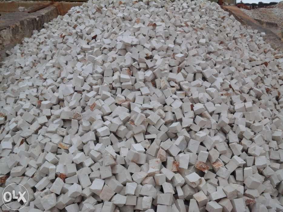 Pedra de calçada Portuguesa - Pavimento