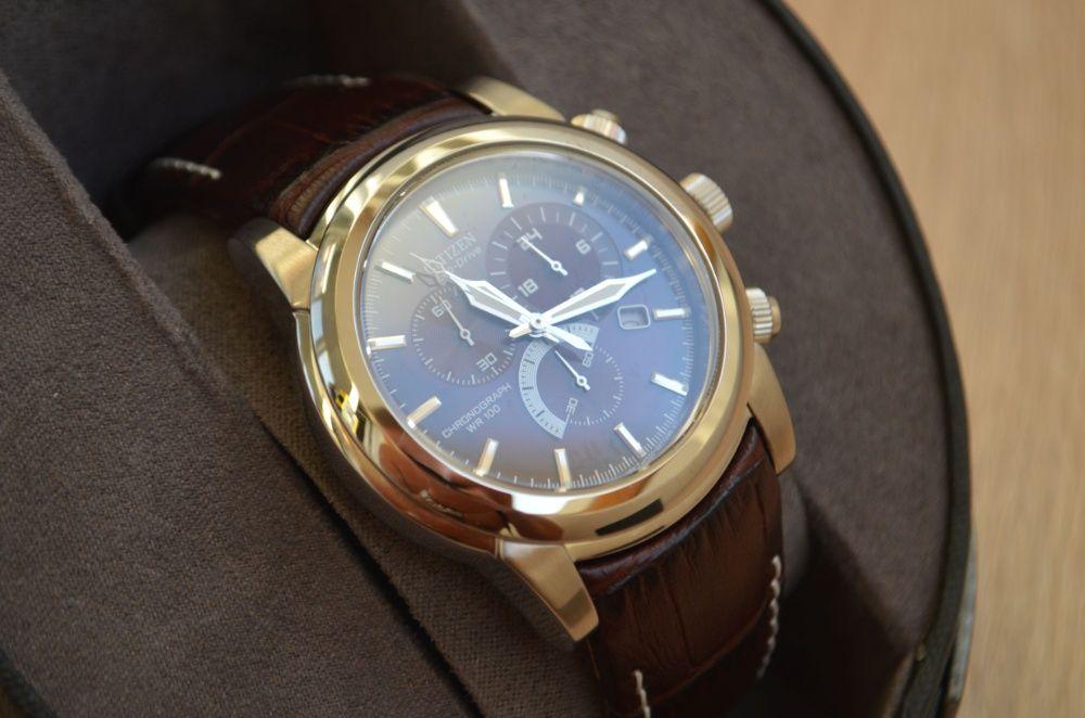 Новые! Красивые часы хронограф Citizen AT0550-11X Eco-Drive. Оригинал.