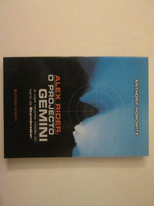 Alex Rider: O projecto Gemini- Anthony Horowitz