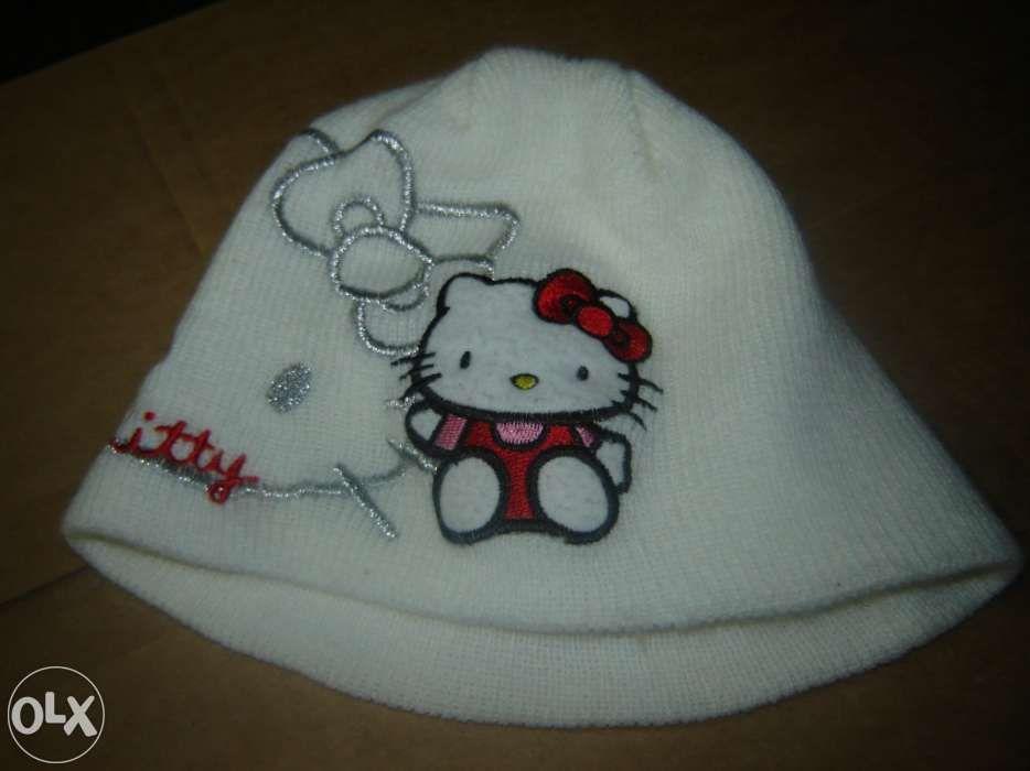 Gorro e luvas Hello Kitty